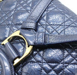 Christian Dior Calfkskin Cannage Small Stardust Backpack