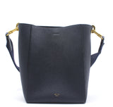 Sangle Small Bucket Bag in Soft Calfskin