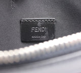 Fendi Leather Zip Clutch