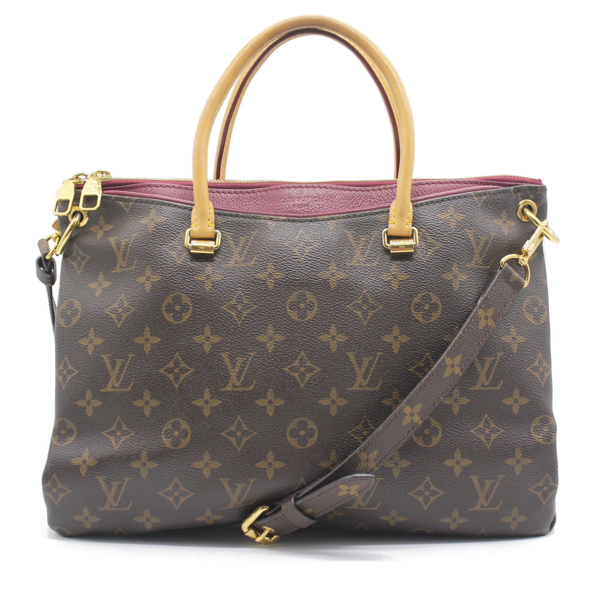 Louis Vuitton Pallas Monogram Canvas Shoulder Bag