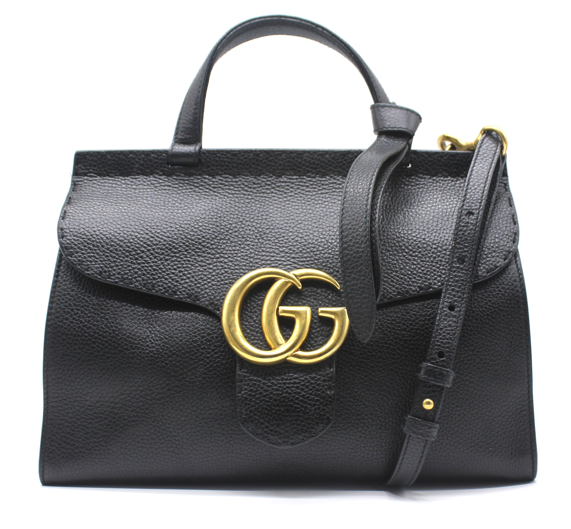 ba231ec666f8 Gucci GG Marmont Small Top Handle Bag – STYLISHTOP