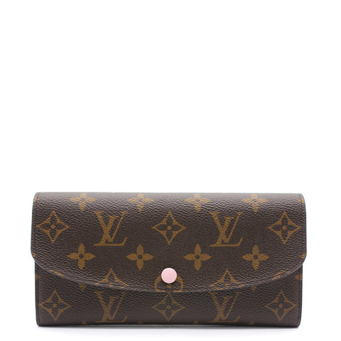 Emilie Wallet Monogram Canvas