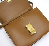 Celine Medium Classic Box Bag Camel