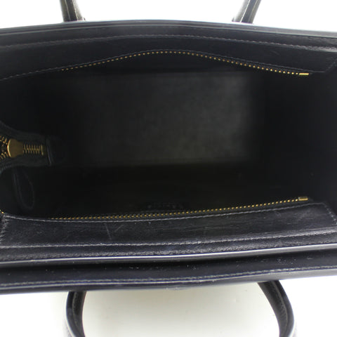 Leather Nano Luggage Tote