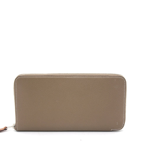 Azap Silk In Zip Around Long Wallet Etoupe