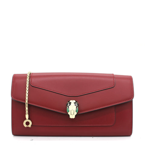 Serpenti Forever Chain Wallet WOC
