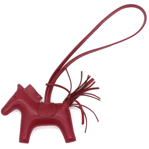 Rodeo PM bag charm Red