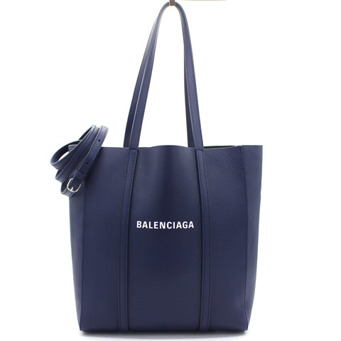Everyday XS Tote Bag in blue calfskin
