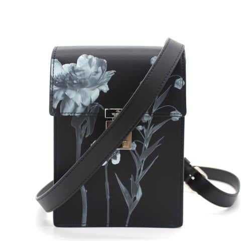 Flowersity leather crossbody bag