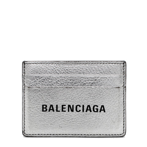 Everyday Card Case Silver
