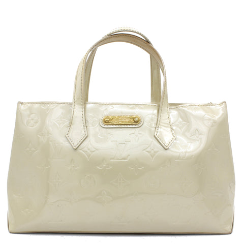 Wishire PM Tote Pearly White