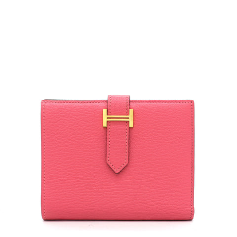 Bearn Compact Wallet Pink