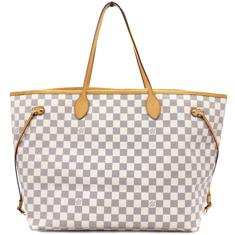 Neverfull GM Damier Azur Canvas