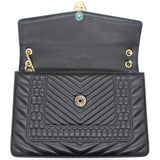 Quilted Scaglie Leather Medium Serpenti Forever Shoulder Bag