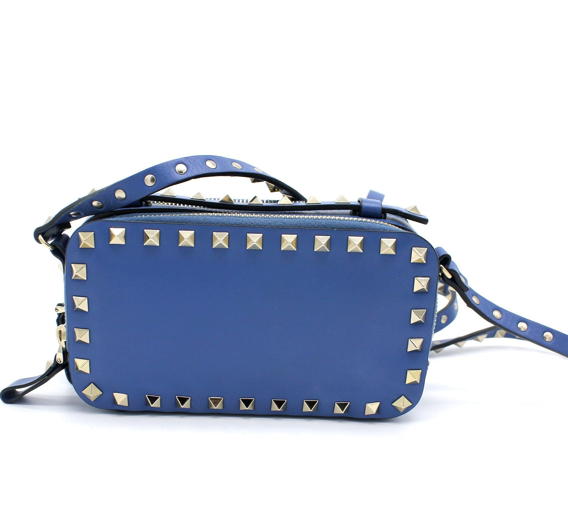 Valentino Leather Rockstud Crossbody Bag