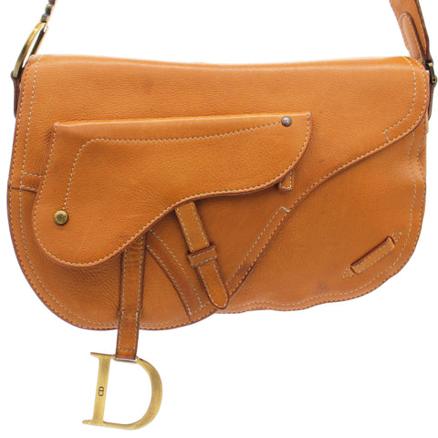 Vintage Men Saddle Shoulder Bag