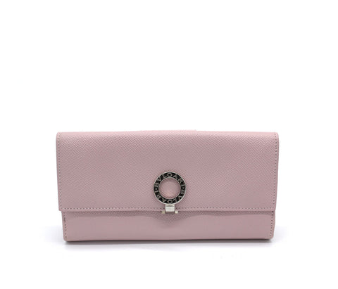 BVLGARI Leather Long Wallet
