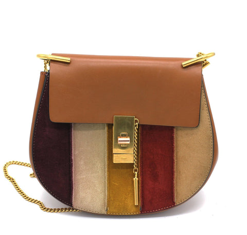 CHLOÉ MEDIUM 'DREW' SHOULDER BAG