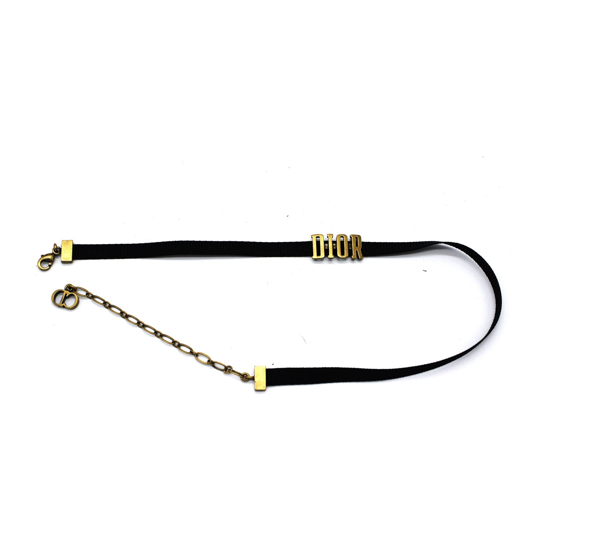 Dior 'Diorevolution' Choker in God-tone Metal