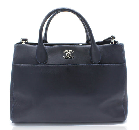 Caviar Large Cerf Executive Shopper Tote Black