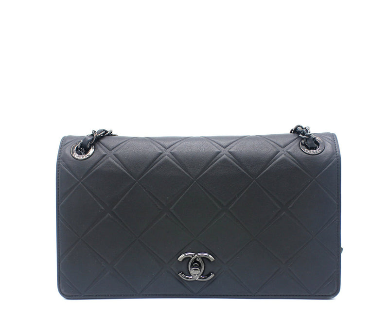 Chanel Calfskin Leather Flap Bag
