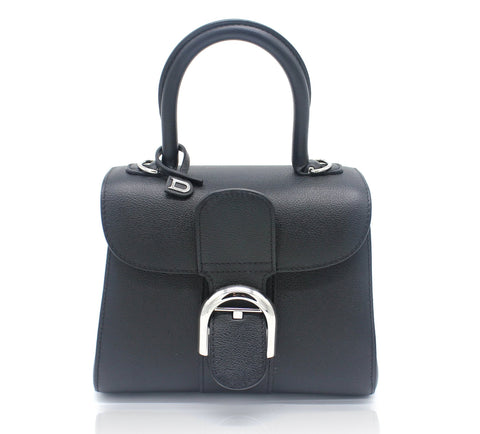 Delvaux Mini Le Brillant Leather Bag