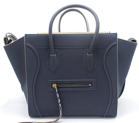 CELINE Medium Luggage Phantom Bag in Calfskin