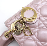 Christian Dior Lady Dior Bag with Chain in Pearly Lambskin