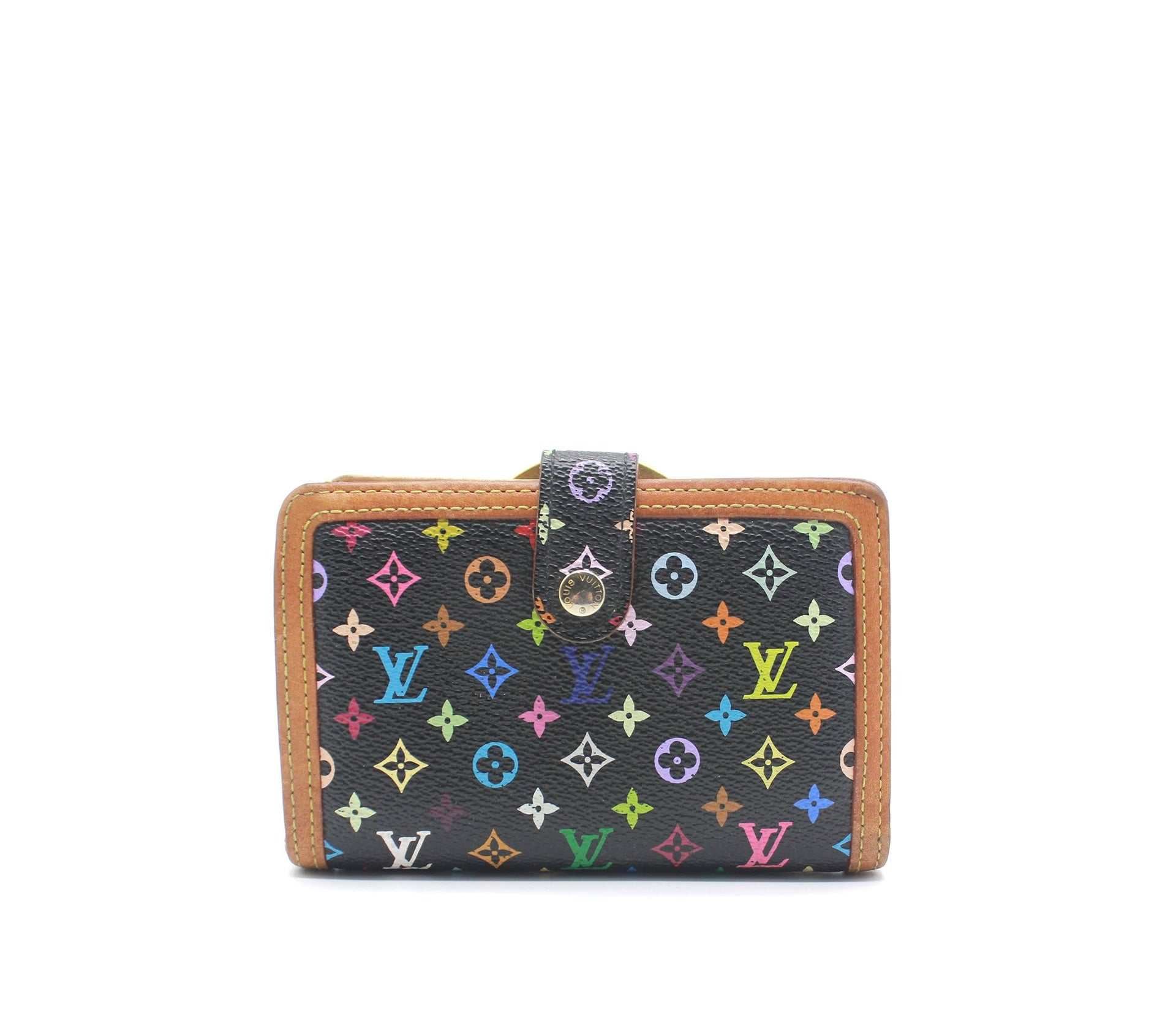 Wallet Black Monogram Multicolor