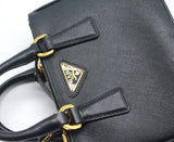 Prada Galleria Saffiano Mini leather shoulder bag