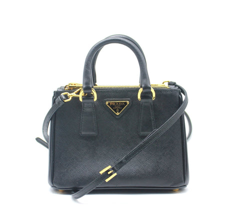 Galleria Saffiano Mini leather shoulder bag