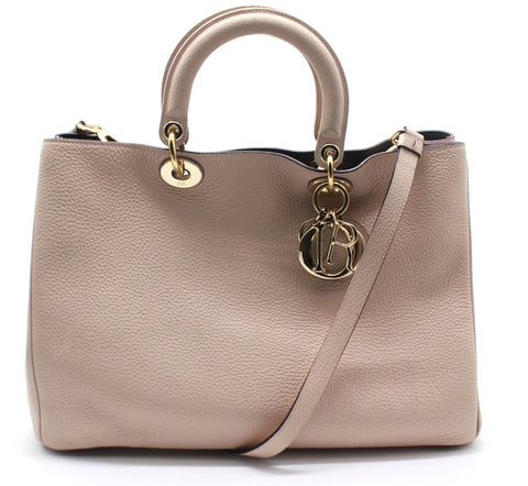 Diorissimo Tote Pebbled Leather Large