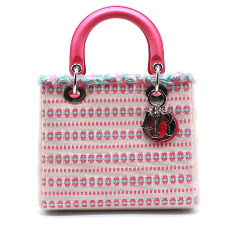 Tweed Medium Lady Dior Bag