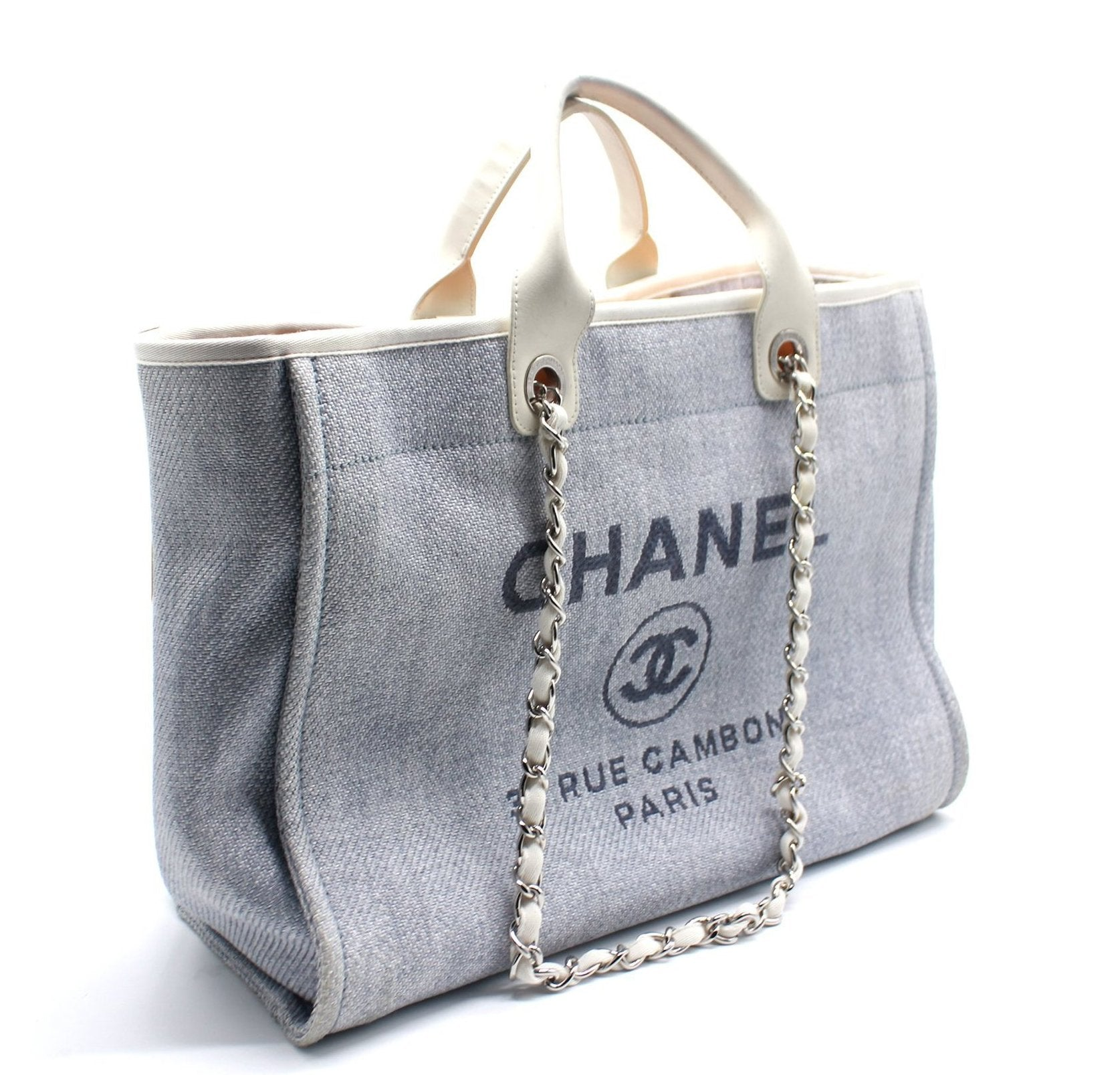 Canvas Deauville Large Tote