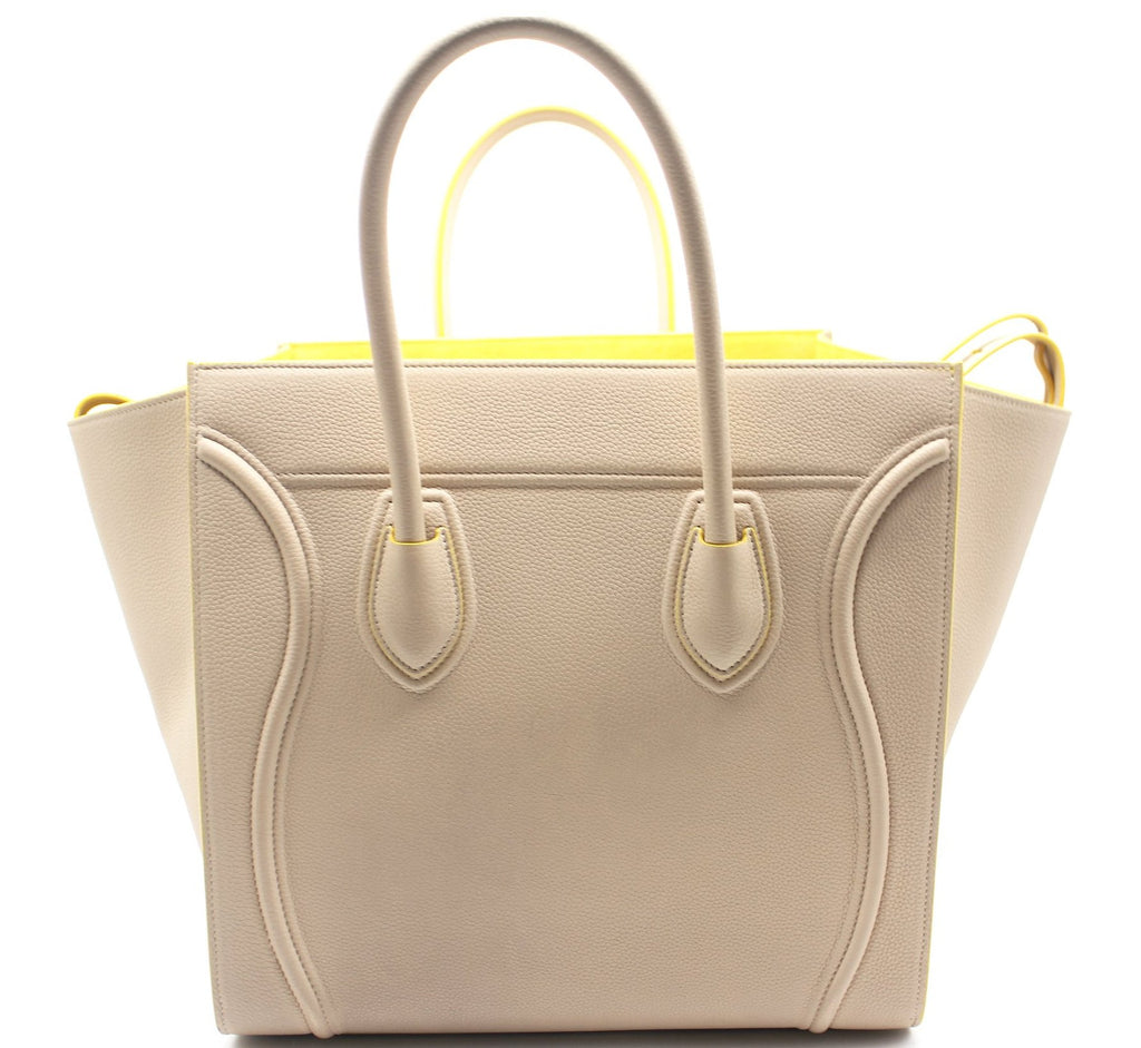 Medium Luggage Phatom Bag in Calfskin
