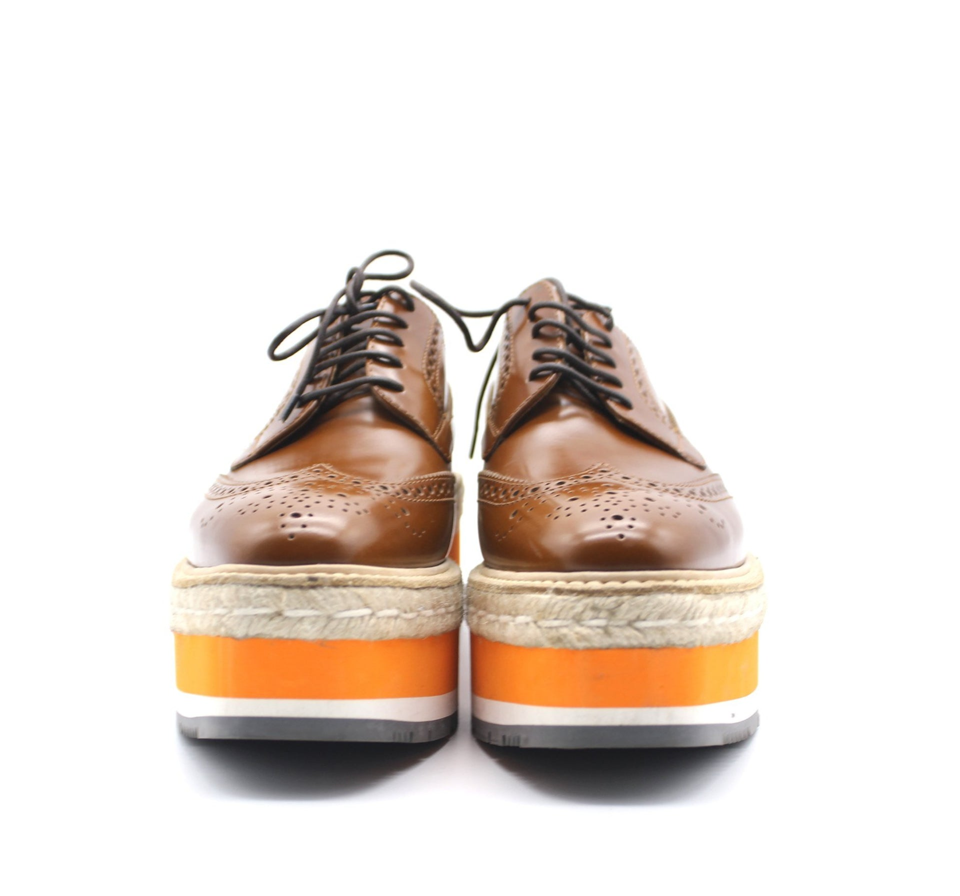 Leather Lace-Up Derby Shoe