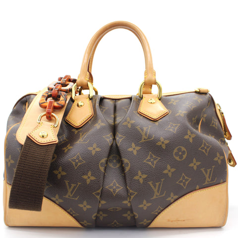 Monogram Canvas Steven 2-Way Bag