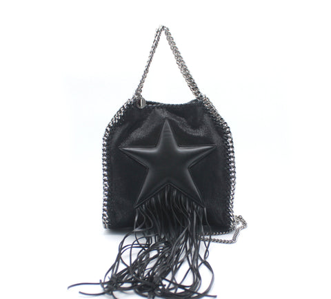 STELLA MCCARTNEY 'Falabella Fringed Star' tote