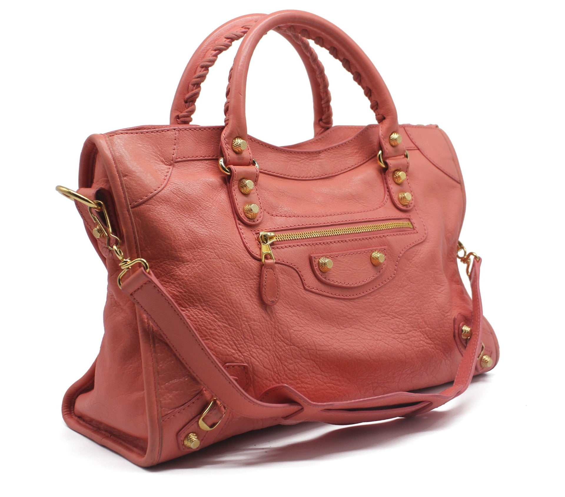 Giant 12 City Leather Tote