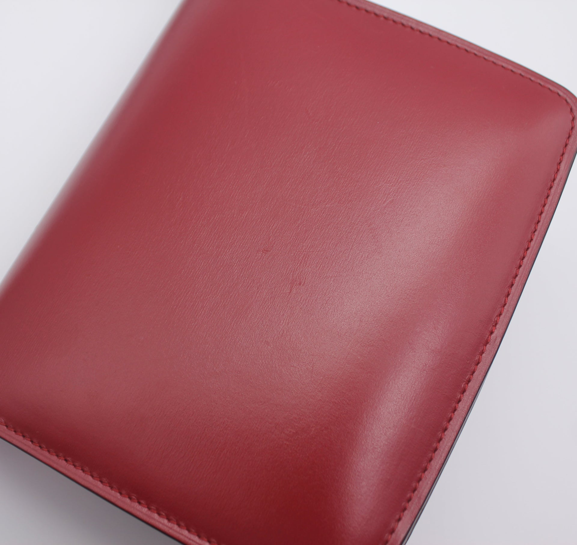 Celine Smooth Calfskin Small Classic Box Flap Red