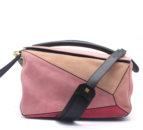 Puzzle Bag Blush Multitone