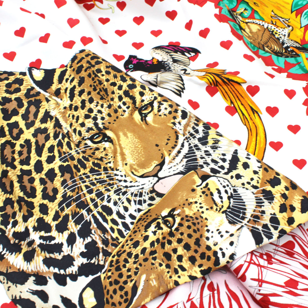 Jungle Love scarf 90