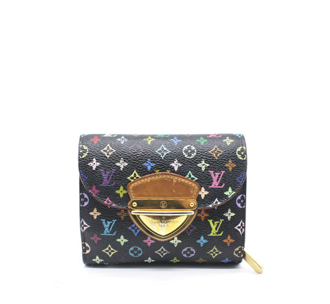 Louis Vuitton Monogram Multicolore Black Koala Wallet