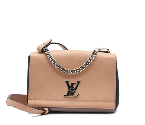 Louis Vuitton Lockme II BB Leather Handbag