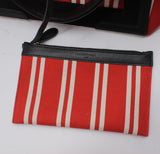 Small Cabas Stripe Canvas Tote
