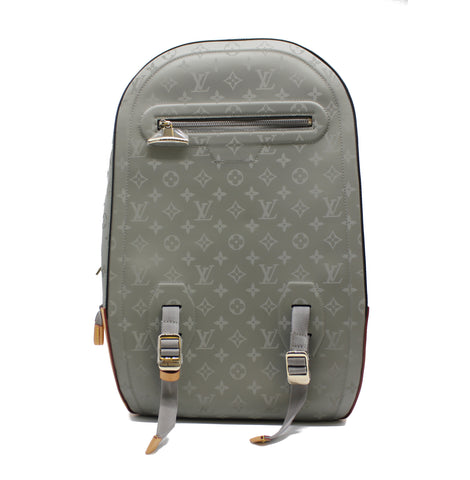 Louis Vuitton Backpack GM Monogram Titanium