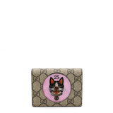 GG Supreme card case wallet with Bosco patch