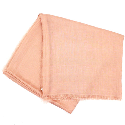 Oblique Silk Scarf Powder Pink
