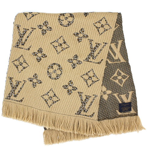 Monogram Giant Jungle Logomania Scarf