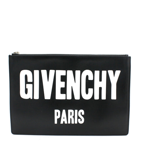 Logo Printed Clutch